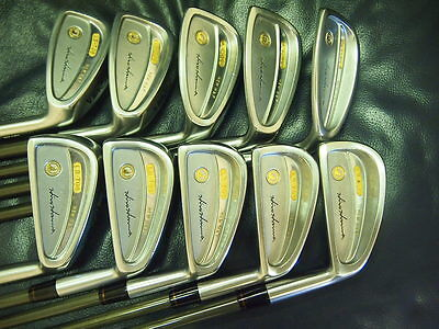 Honma Mens LB708 New H&F golf iron 18K gold 4stars Feather Weight Excellent !