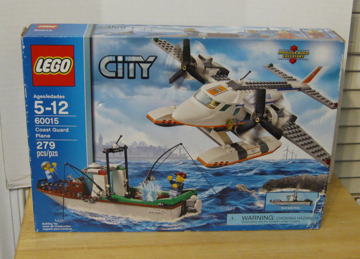 2013 LEGO City Set  60015 Coast Guard Plane NIP VHTF RETIROT 279 pcs.