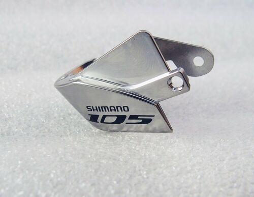 Shimano 105 ST-5700 Left Hand Lever Name Plate w// Fixing Screw Silver 1pce
