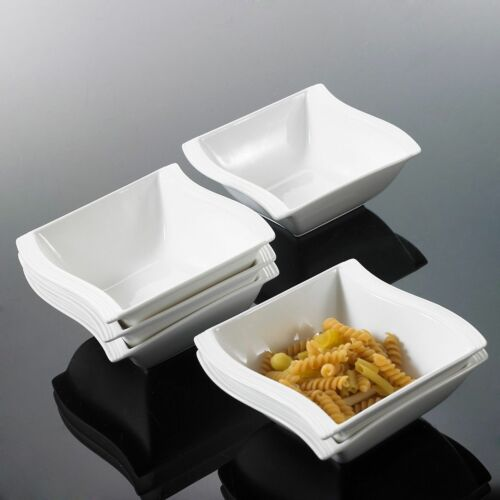26PC Complete Dinner Set Wave Plates Bowls Ceramic Dinnerware Kitchen Dining Set