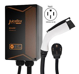 juicebox level 2 40 amp j1772 ev home charging station portable evse ebay. Black Bedroom Furniture Sets. Home Design Ideas