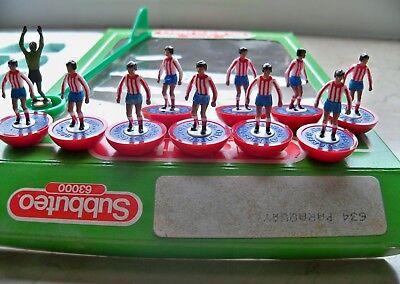 100% Vero Subbuteo Team Paraguay Lw Ref N.634 Players & Ref Box In Immaculate Conditions Essere Distribuiti In Tutto Il Mondo