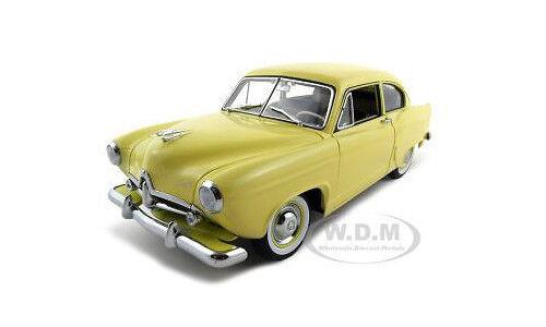1951 KAISER HENRY J jaune 1 18 Diecast voiture modèle par SUNSTAR 5091