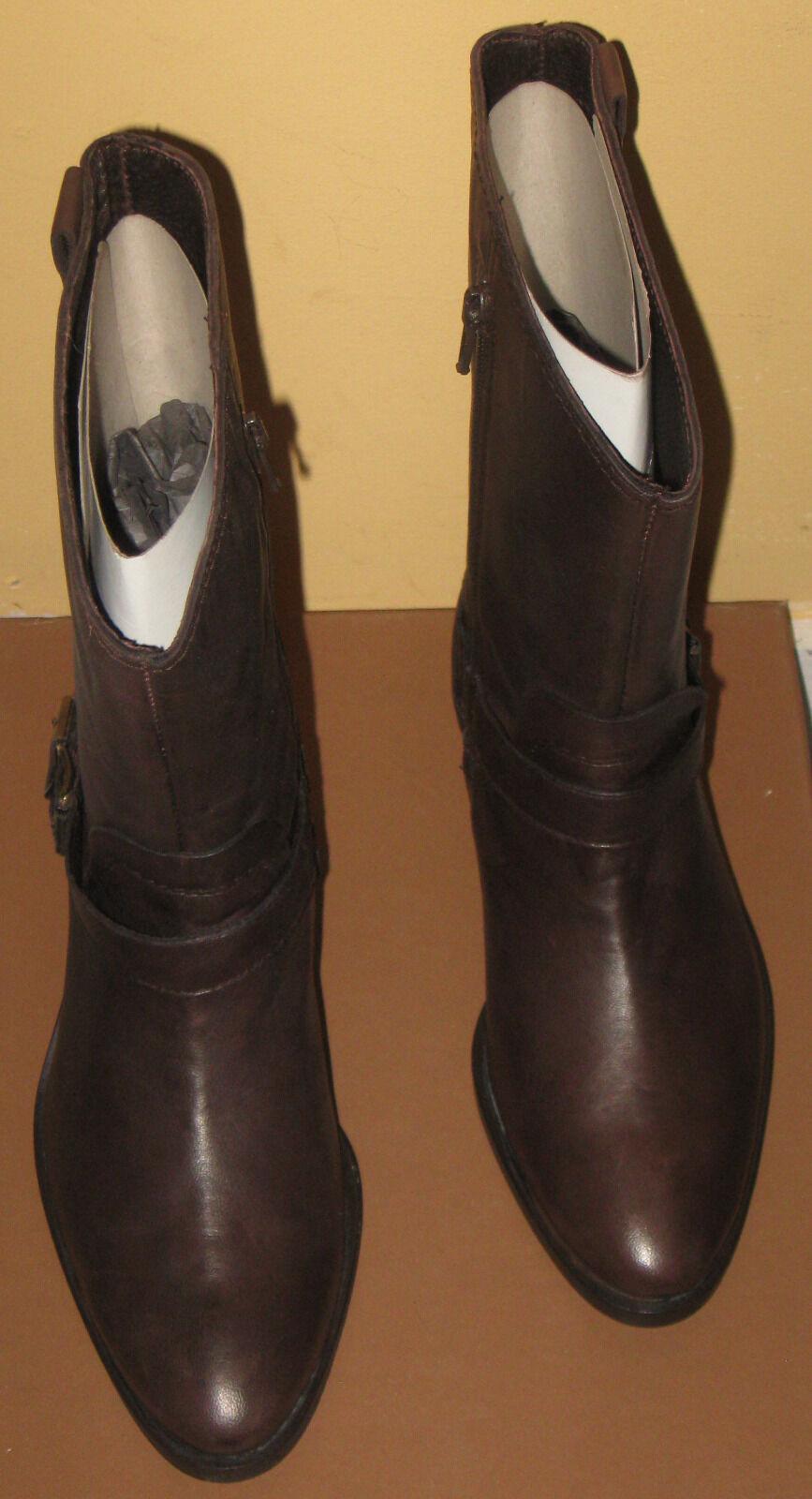 Jane Shilton para Mujer Jody mitad de la Pantorrilla Bota De Cuero Marrón, UK3, 5000064768361
