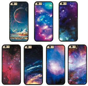 Space-Rainbow-Design-Hard-Phone-Case-Cover-For-iPhone-Touch-Samsung-LG