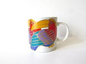 Laurel-Burch-TOCO-TOUCANS-12-oz-Coffee-Mug