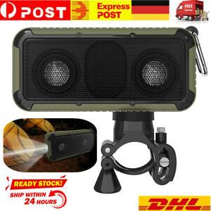 Außen Bluetooth Lautsprecher Wasserdicht IP67 Tragbar Kabellos Fahrrad Speaker A