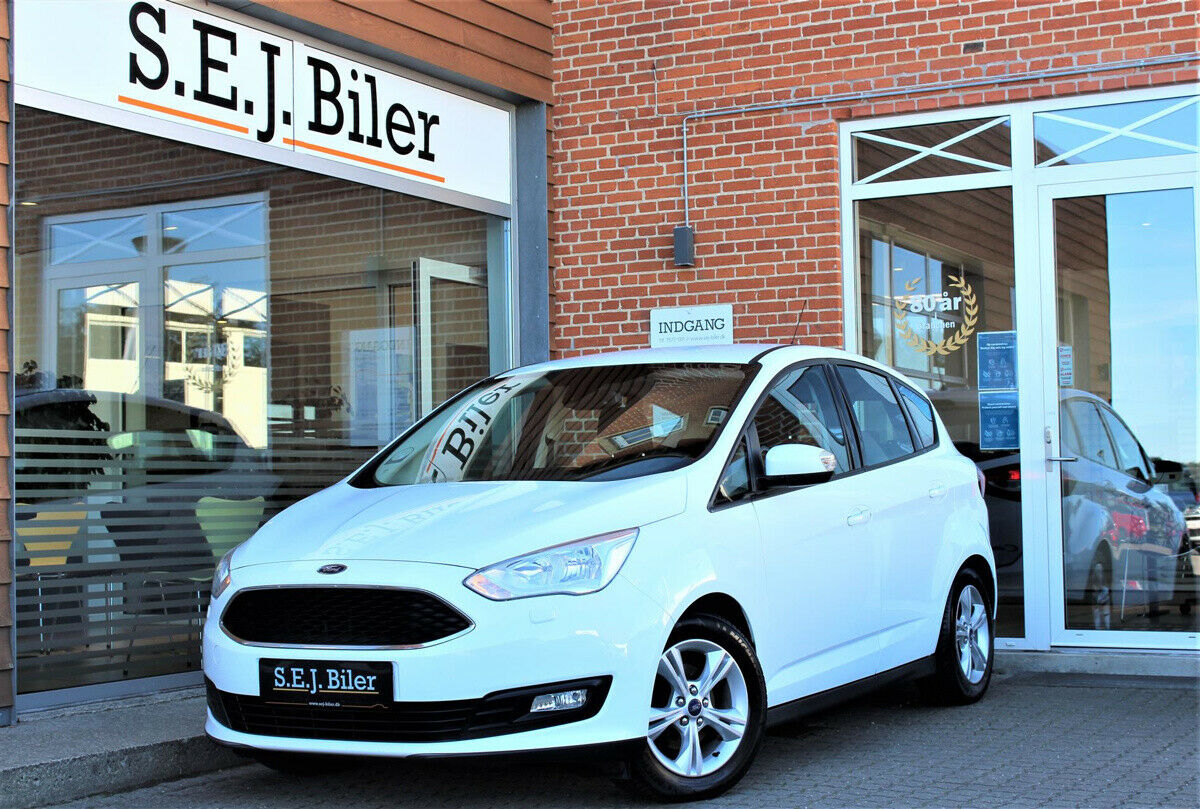 Ford C-MAX 1,5 TDCi 120 Business 5d - 107.800 kr.