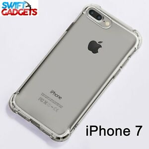 For iPhone 7 Case Shock Proof Crystal Clear Soft Silicone Gel Bumper Cover Slim 5060515250012