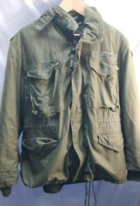 Cold-Weather-1980-OG-107-Military-Army-Field-Jacket-M-65-MED-SHORT