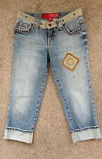 """GUESS CROPPED JEANS SIZE US 24"""" XS"""
