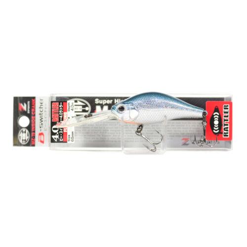 Zipbaits B Switcher 4.0 Rattler 65mm Schwimmend Köder 826 1453