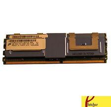 8GB(2X4GB) DDR2 Memory RAM PC2-5300 ECC FBDIMM DIMM For Servers and Workstations