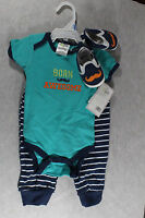 Baby Gear born Awesome Two Piece Plus Shoes - 3-6 Month (new)