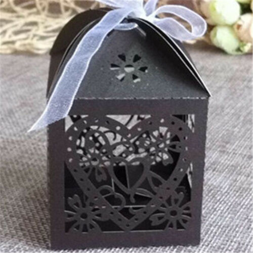 10Pcs//set Wedding Favors and Gifts for guests Party Mariage Candy Boxes Decor