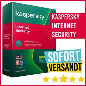 Kaspersky Internet Security 2021 - 1PC, 3PC, 5PC, 10PC | 1 Jahr, 2 Jahre