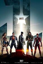 Justice League Movie Poster (24x36) - Gal Gadot, Jason Momoa, Ezra Miller v1