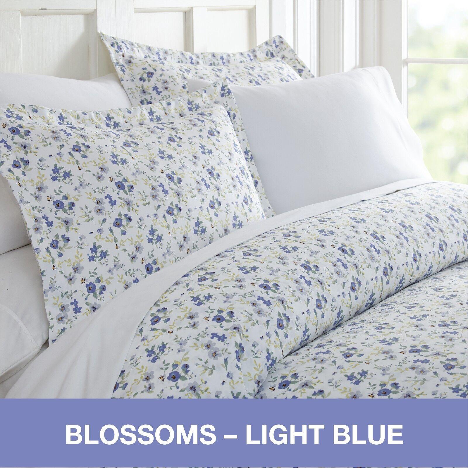 Hotel Collection Premium Ultra Soft 3 Piece Blossoms Print Duvet Cover Set
