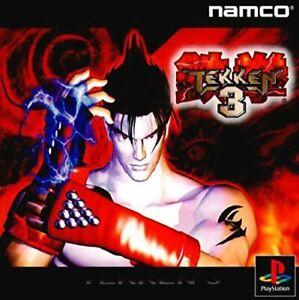 Used Ps1 Ps Playstation 1 Tekken 3 4907892010475 Ebay