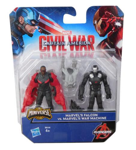 Marvel Captain America Civil War Falcon vs Machine FIGURINE AVENGERS HASBRO NEUF