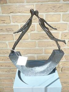 casablanca design skulptur kiss 59828 sofortlieferung. Black Bedroom Furniture Sets. Home Design Ideas