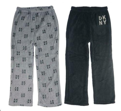 DKNY Big Boys Grey /& Black 2pc Pajama Pants Size 8 10//12 14//16 18//20