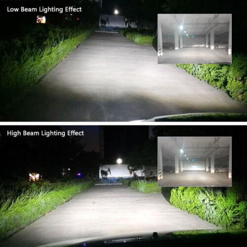 Autofather H4 HB2 9003 White LED Headlight Kit For Honda Civic CR-V Odyssey Fit