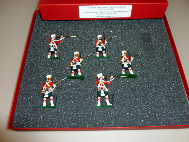 Traditions soldiers -highland regiment indian  Soldatini  in piombo   in box