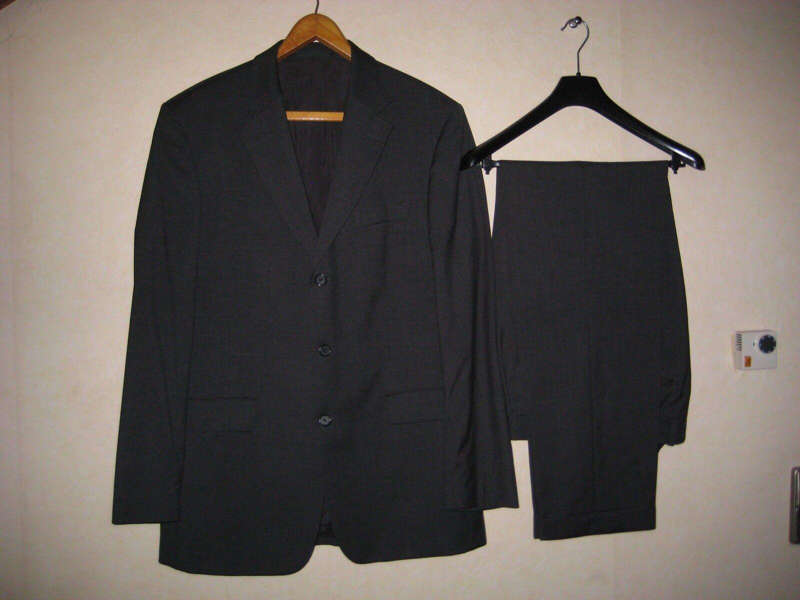 Hugo Boss Herren Anzug Gr.102 grau einreihig Modell Da Vinci/Lucca