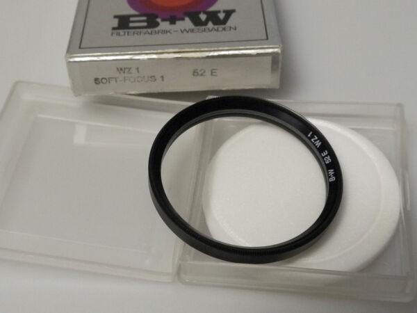 (prl) B+w Wz1 Soft-focus I 52 E Mm Filtro Photo Foto Filter Filtre Filtar Filtru