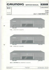 Grundig Service Anleitung Manual T 210 310 SAN REMO T 21  B452