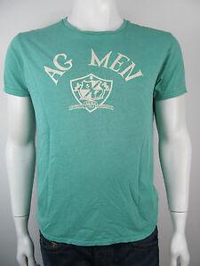 Scotch-amp-Soda-Herren-Tee-T-Shirt-Jersey-Gruen-Neu-S
