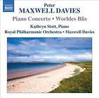 Peter Maxwell Davies: Piano Concerto; Worldes Blis (CD, Jan-2013, Naxos (Distributor))