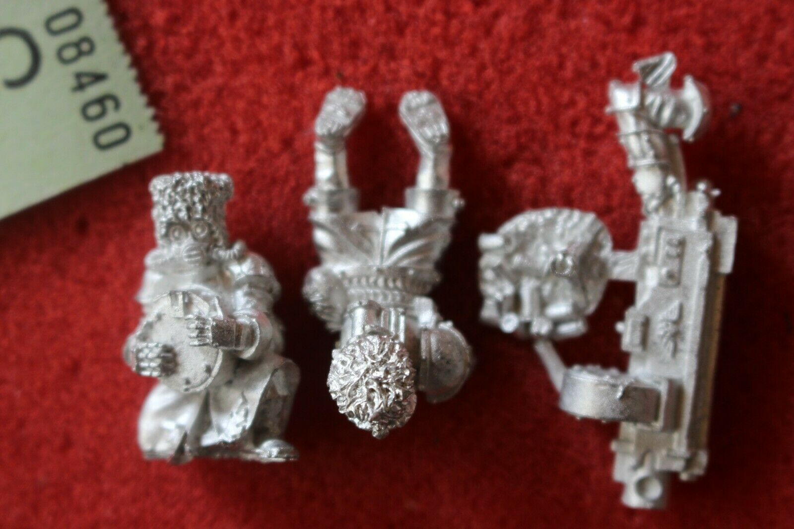 Games Workshop Warhammer 40k Vostroyan Heavy Bolter Team New Metal Figures WH40K