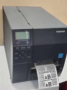 TEC Toshiba Industrial DT/TT Network Label Printer B-EX4T1, B-EX4T1-GS12-QM-R Canada Preview