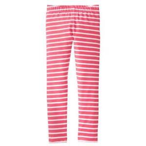 48892b1a68c32 Image is loading NWT-Gymboree-Girl-Leggings-Guava-Striped-Leggings-Spring-
