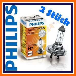 2x philips vision h7 12v 55w 30 abblendlicht vw caddy. Black Bedroom Furniture Sets. Home Design Ideas