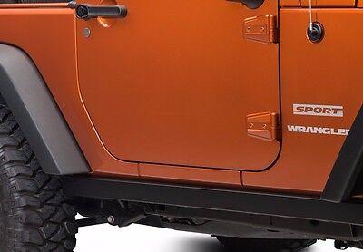 Smittybilt SRC Classic Sides fits 2007-2017 Jeep Wrangler JK 2 Door 76635 Black