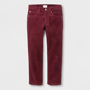 latest trends shop for newest best prices Details about NEW Boys' 5-Pocket Corduroy Pants - Cat & Jack™ Cabernet Red