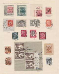 Bayern-Stempel-Lot-mit-nachverwendeten-Stempeln-1923-1948-bitte-ansehen