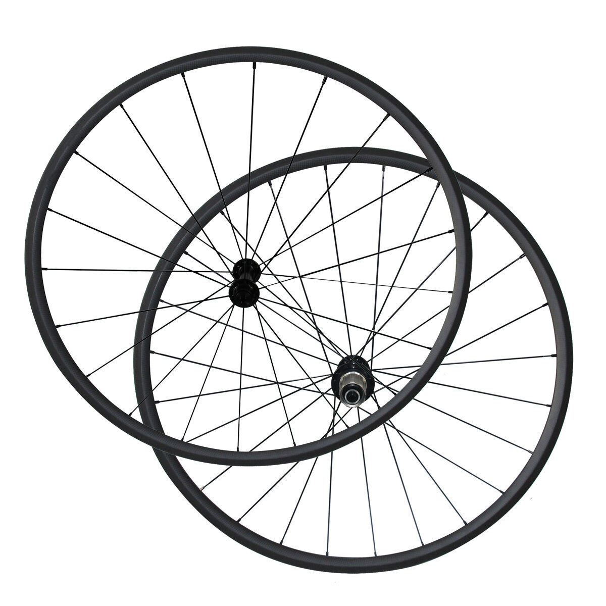 1280g 24mm Clincher carbon bicycle wheels R13 CN424 spokes Carbon bike wheelset