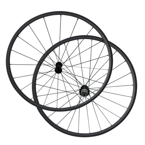 1270g 24mm Clincher carbon bicycle wheels R13 CN424 spokes Carbon bike wheelset