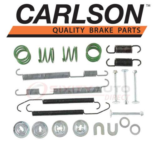 Shoe cw Carlson Rear Drum Brake Hardware Kit for 1998-2008 Subaru Forester
