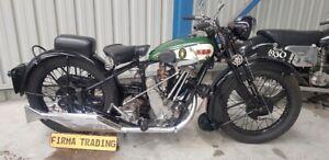 1930 BSA Sloper 500cc extremely rare Firma Trading Classic Motorbikes Australia