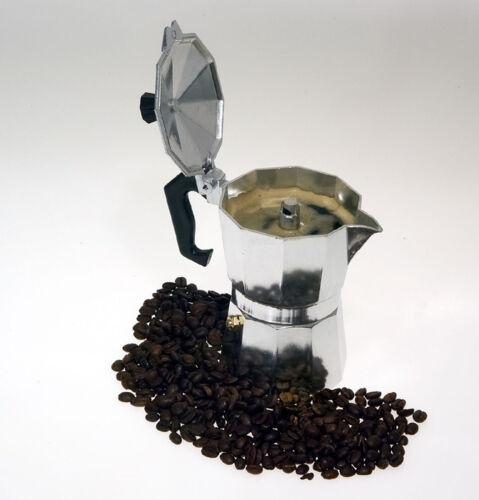 6 tazze Leopold Vienna CLASSICA ALLUMINIO espresso Fornello per il fornello