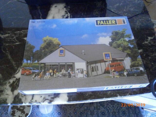 Faller HO 130339 ALDI-Markt Süd//Nord  Bausatz  Neuware