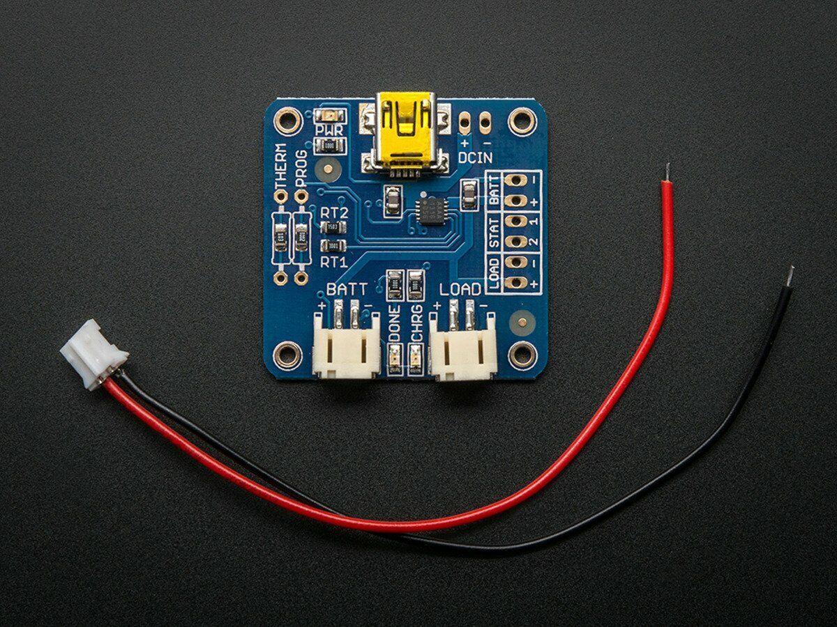 [3DMakerWorld] Adafruit USB Li-Ion/LiPoly Charger, v1.2