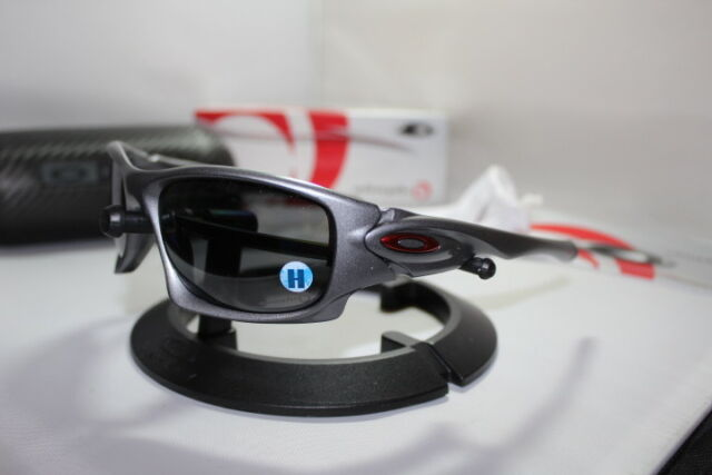 5da25455b1 New Oakley Ten Alinghi Limited Edition Grey Black Iridium Polarized OO9128 -08