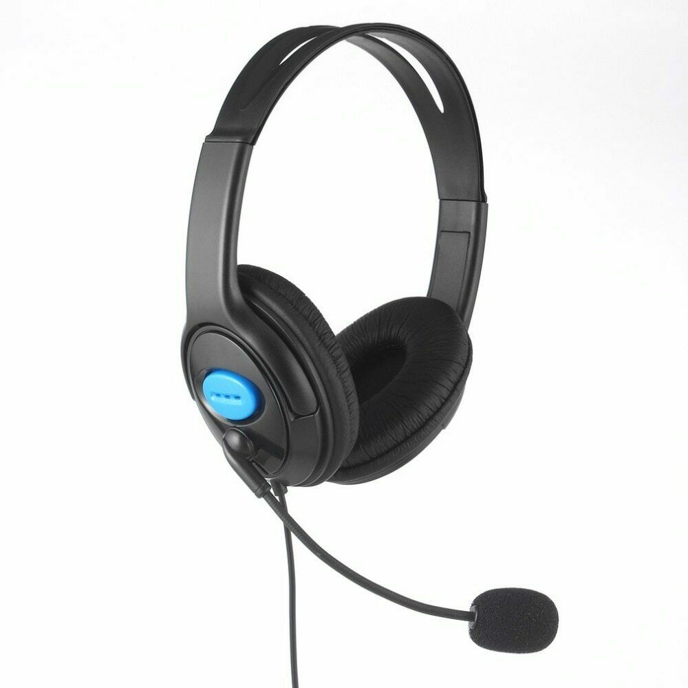 3.5mm Wired Mic Gaming Headset Stereo Surround Headphone For PS4 Xbox One PC Computers/Tablets & Networking