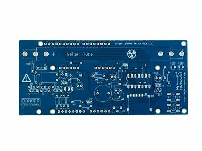 Geiger Counter Shield Kit For Arduino - Pcb Only, No Parts